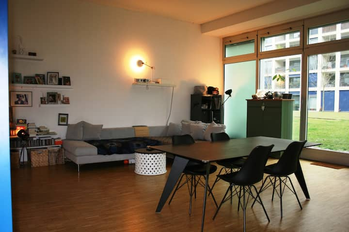 Urban Modern 100 sq. m loft in Zurich.
