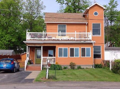 Cedar Beach House on Lake Erie
