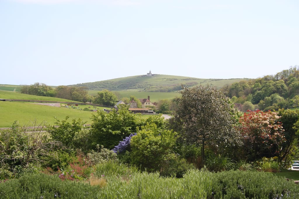 ... set in beautiful downland scenery.