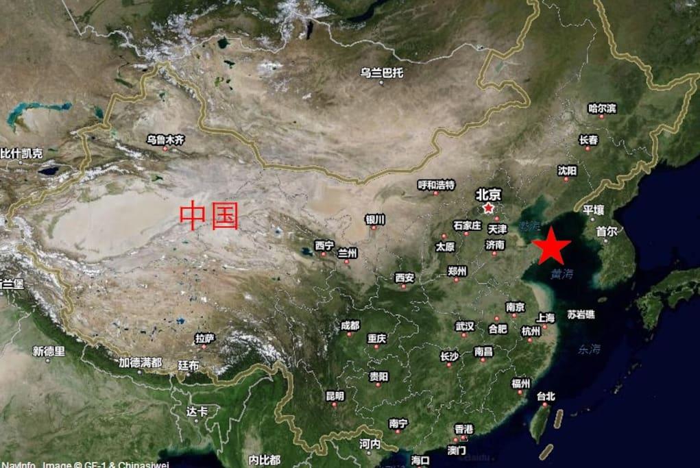 公寓中国位置1