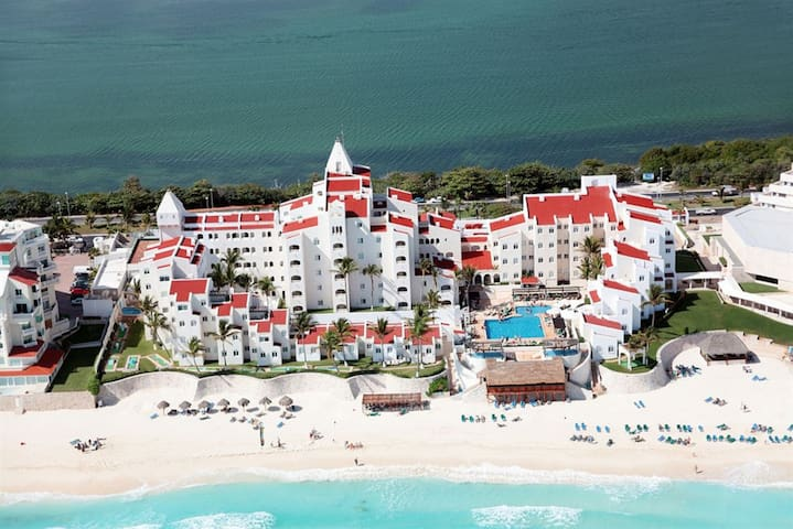 GR Caribe Deluxe Resort-Cancun Mex+ALL INCLUSIVE