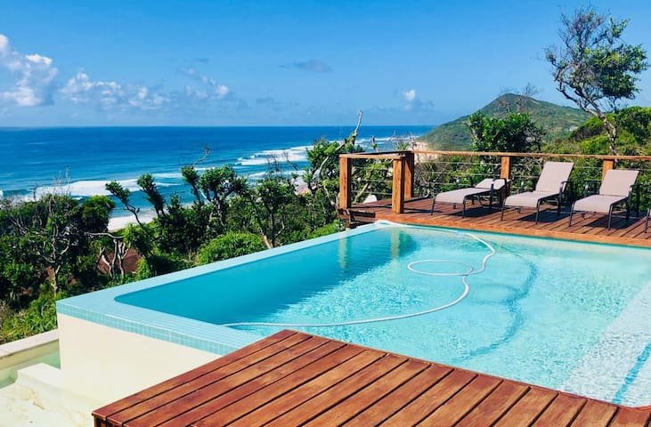 Private Villa with spectacular 180' Ocean views
