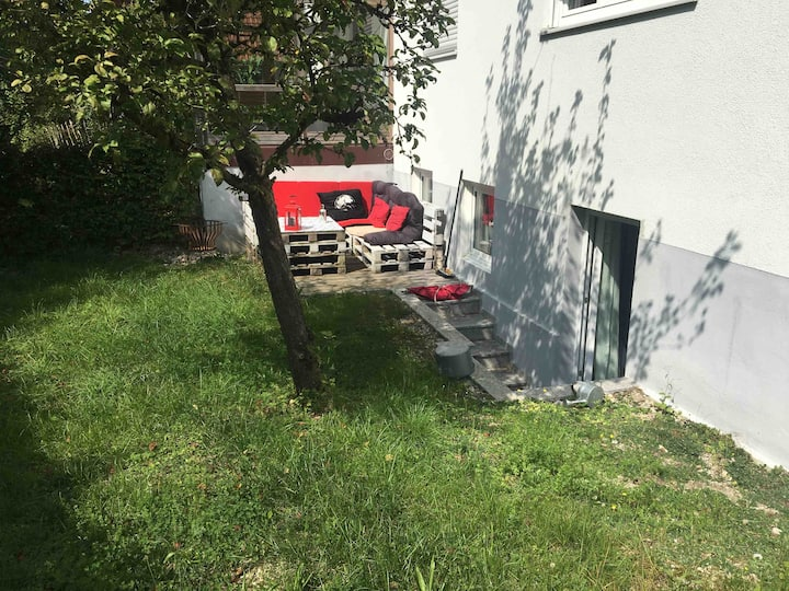 Brand New Garden Apartment close to Munich