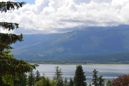 Panoramic Lakeview with Pool - Salmon Arm - Rumah