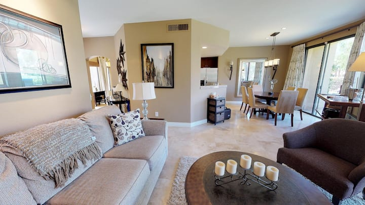 (PGA205) Two Story Two Bedroom PGA West Condo with Awesome Views