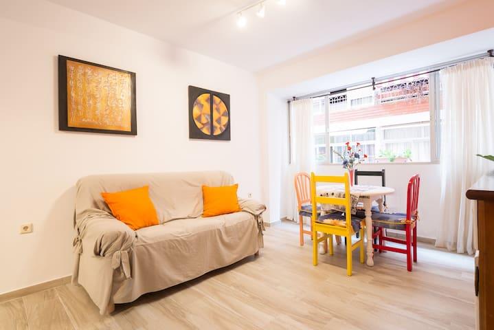 Piso céntrico y confortable - Malaga - House