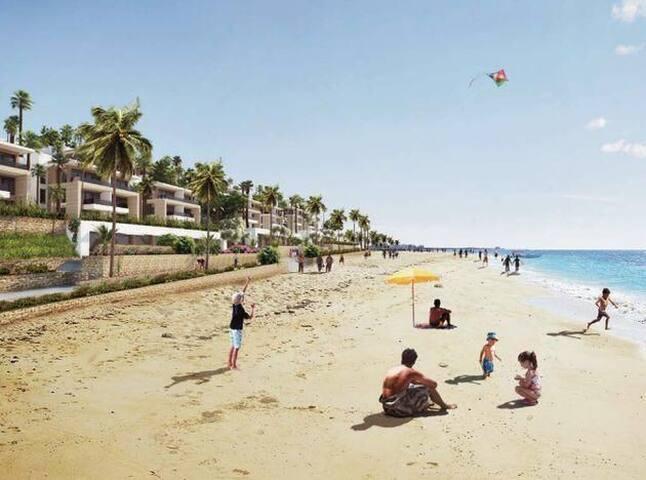 Loger à la plage des Nations à 18 km de Rabat