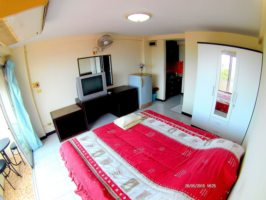 Comfortable room with amenities