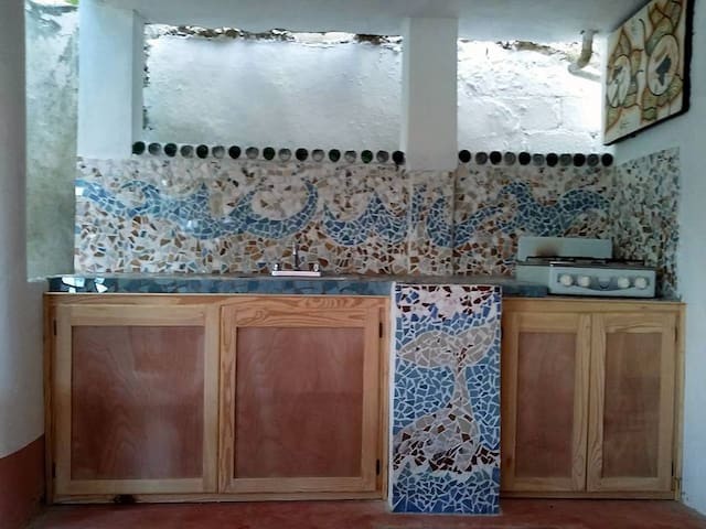 Private room with bathroom and kitc - Las Galeras - House