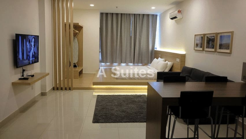 Atria Suites Petaling Jaya c/w WiFi