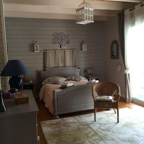 Chambre d'Hôtes avec bain a remous