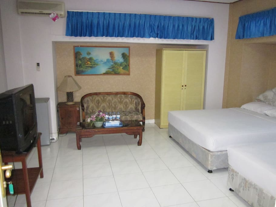 Family Room Double Bed Room