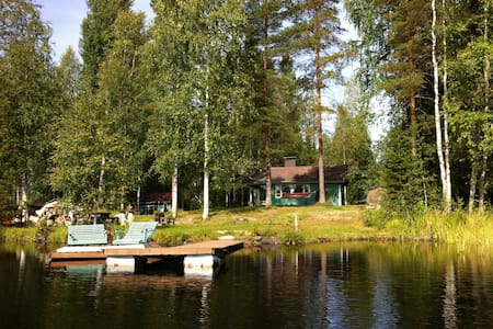Beautiful House on a peaceful lake - Vieremä - Cottage