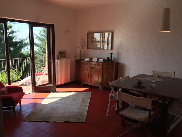 Casa fra lago,sole e collina - Lesa - Huis