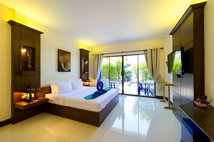 JR Siam Kata Resort Stunning Deluxe Room