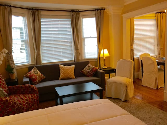 Classic 20's  boutique apt. with charming updates