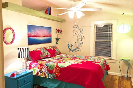 The Peacock Suite/The Tropical Nut - Sarasota - Townhouse