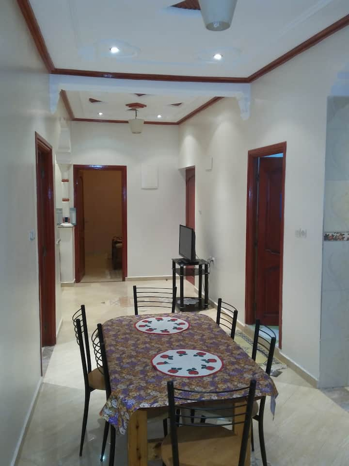 Family House apartment equipped in Agadir Tamraght
