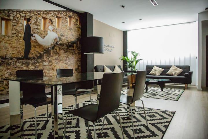 Loft de Diseño Moderno y Acogedor WIFI
