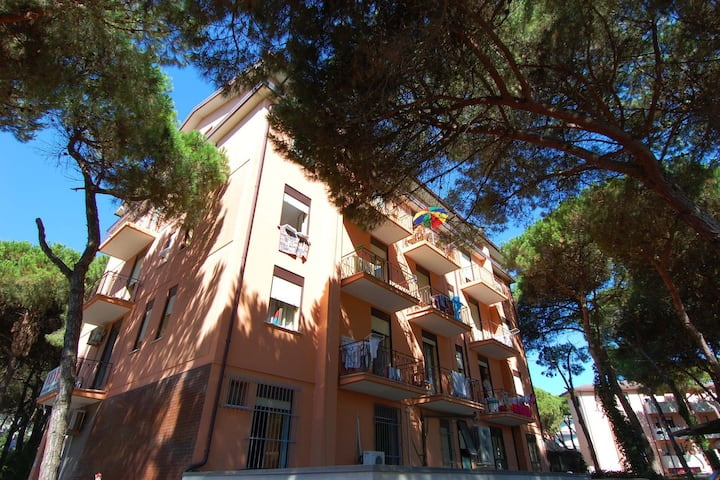 Attractive apartment near Venice with touristy spots
