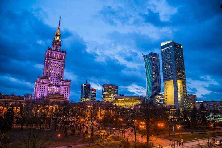 Stay close to the heart of the city - Warszawa - Apartment