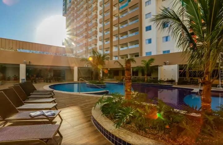 Olímpia Park Resort (Flat ll Luxo - c/ 2 Quartos)