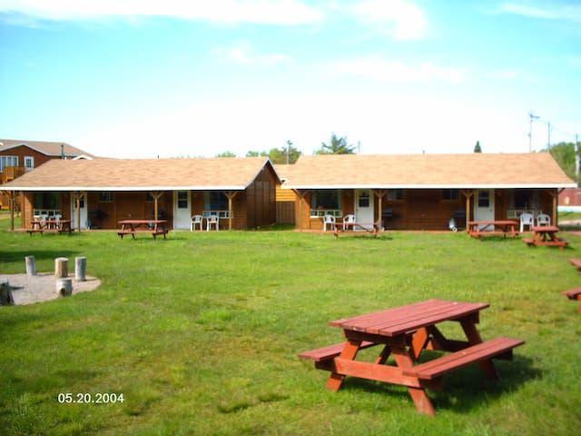 Log Cabins Exterior View