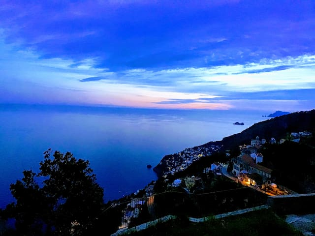 Stanze panoramiche Furore costiera amalfitana