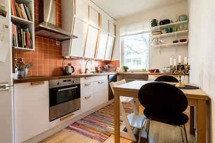 Cute Apartment in Beautiful area. - Stokholm - Daire