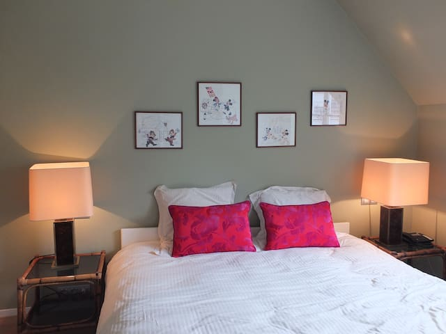 Chambre avec salle de bain privée - Waterloo - House