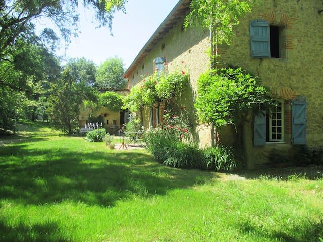 Ferme  d'En Bousquet - Loubens-Lauragais - Rumah