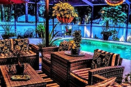 ** No Cleaning Fee*COASTAL SALTWATER POOL OASIS*