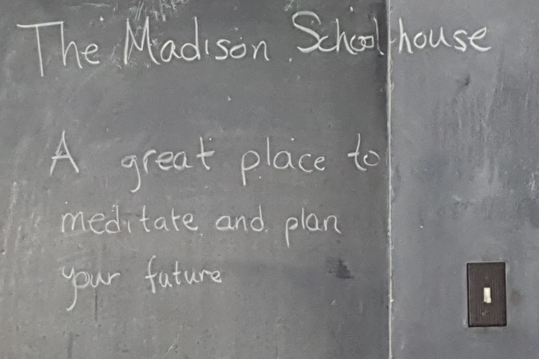 Original slate chalkboards, perfect for those big ideas