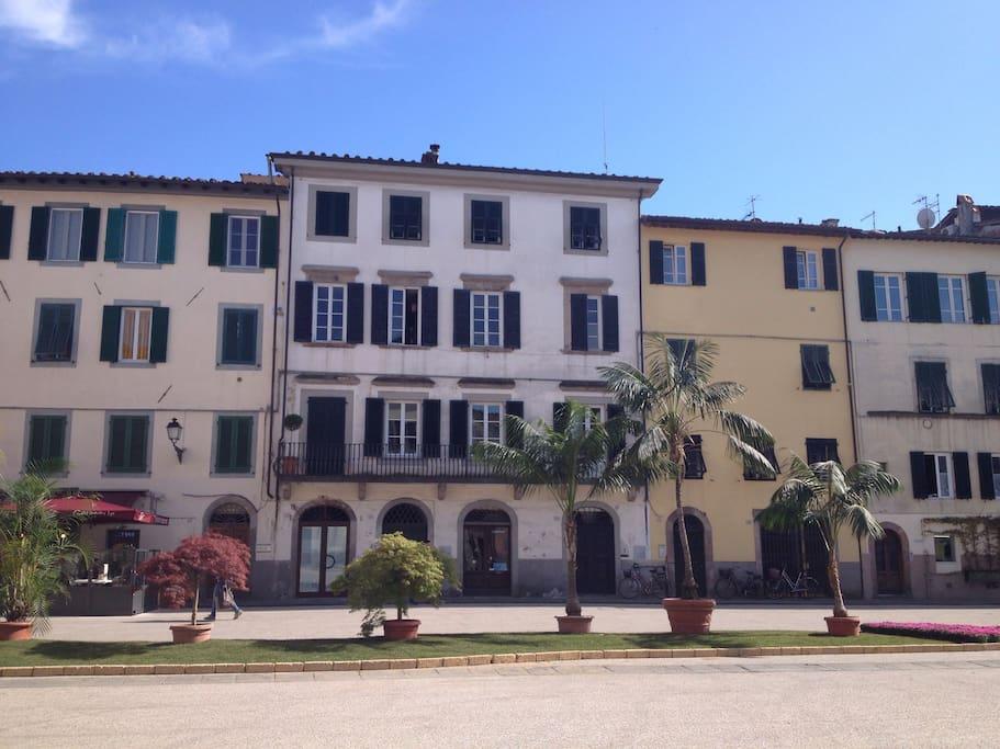 The building in St Francesco