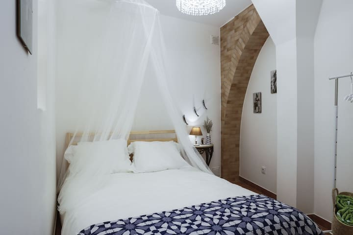 The charming bedroom