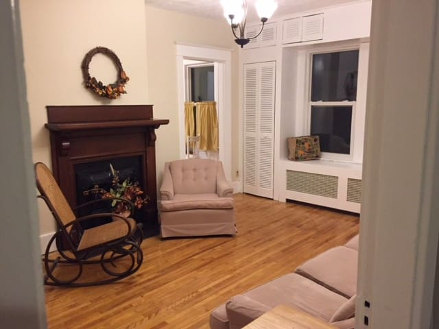 Cozy room in historic north end house