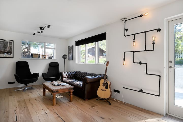Unique apartment of a young icelandic electrician