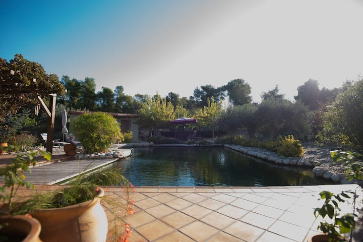 Ιδιωτικό Δωμάτιο σε σπίτι με κοινόχρηστη πισίνα