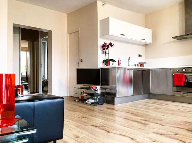 Lumineux, calme et à proximité de Paris - Puteaux - Apartment