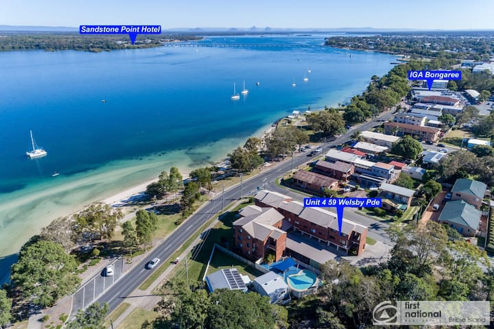 Waterviews, Pool, Wifi, its all here. Welsby Pde, Bongaree