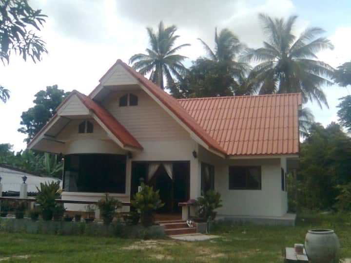 Baan Surin Thai village homestay.