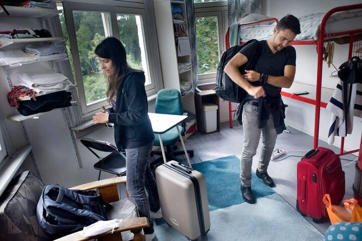 Eenvoudige ruime kamer in het centrum van Breda