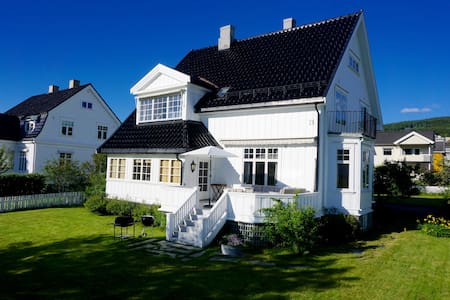 Downtown house with soul and comfort - Lillehammer - Casa
