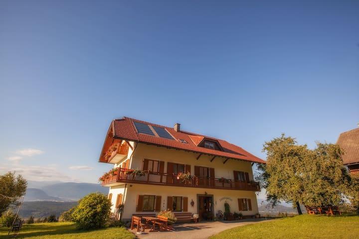 Voll ausgestatte Wohnung am Faakersee inkl. Balkon - Villach-Land - Leilighet