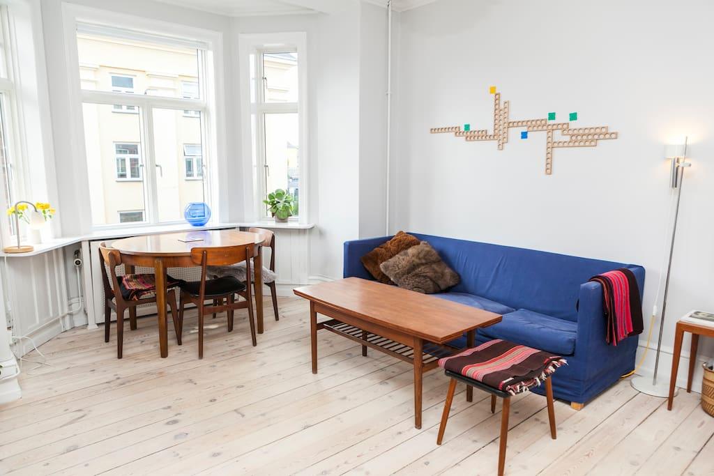 Spacious child-friendly apartment