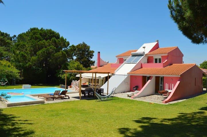 Large  house with pool near Caparica and Lisbon - Charneca de Caparica - House