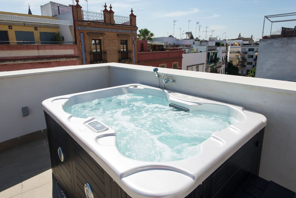 Terrace alameda de hercules apartments for rent in for Terrace jacuzzi