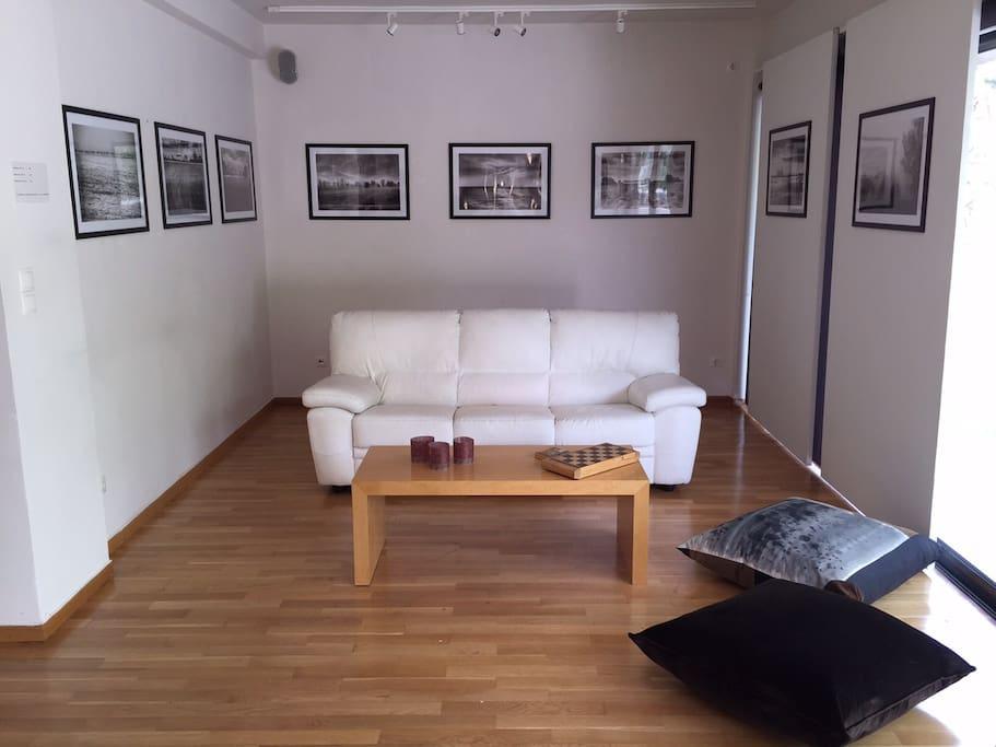 Living-room on the 1st floor