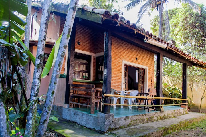 Casa 5 - Chalé Bamboo- Pauba