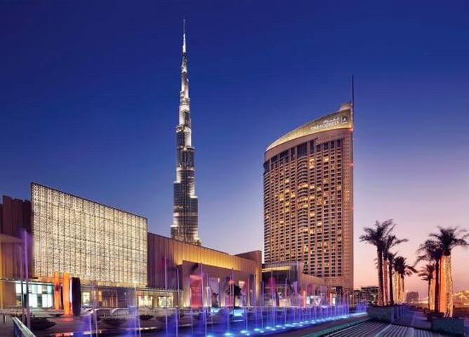 Luxury 5* ((Large)) Dubai Mall Serviced Residences